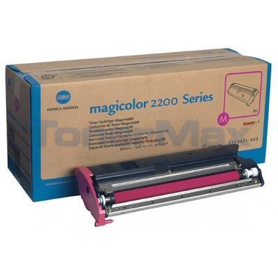 QMS MAGICOLOR 2200 TONER MAGENTA